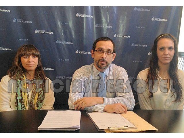 Los fiscales acusados y sospechados (Foto: Noticias de Esquel)
